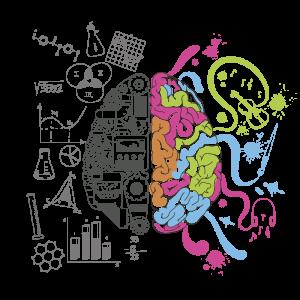 Linker en rechter hersenhelft: Meer lezen of meer zien